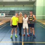 Sukces naszych badmintonistów