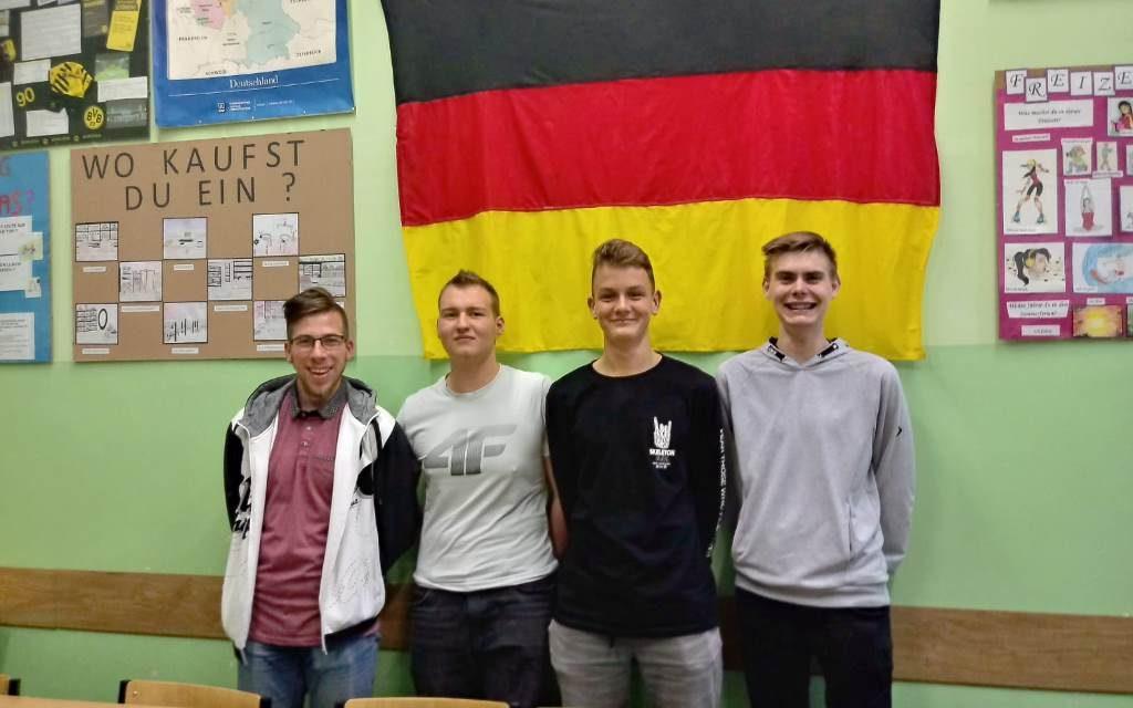 """Wyróżnienie naszych uczniów – """"Niemiecki=Sukces w Zawodzie"""""""
