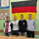 """Wyróżnienie naszych uczniów - """"Niemiecki=Sukces w Zawodzie"""""""